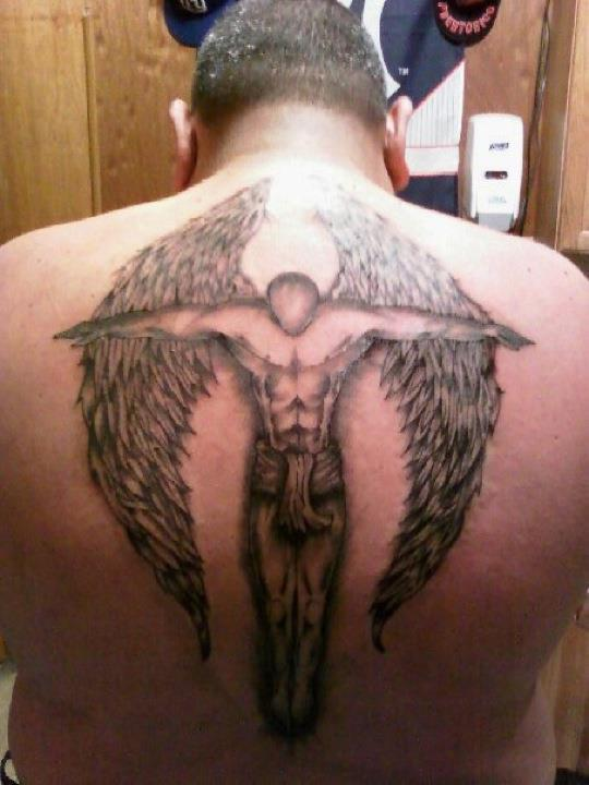 DaVinciBodyArt_Angel