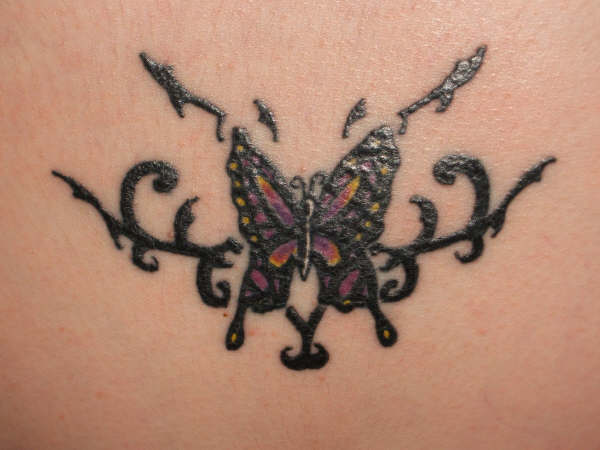 9c2f91563 Gothic Butterfly Tattoo Picture