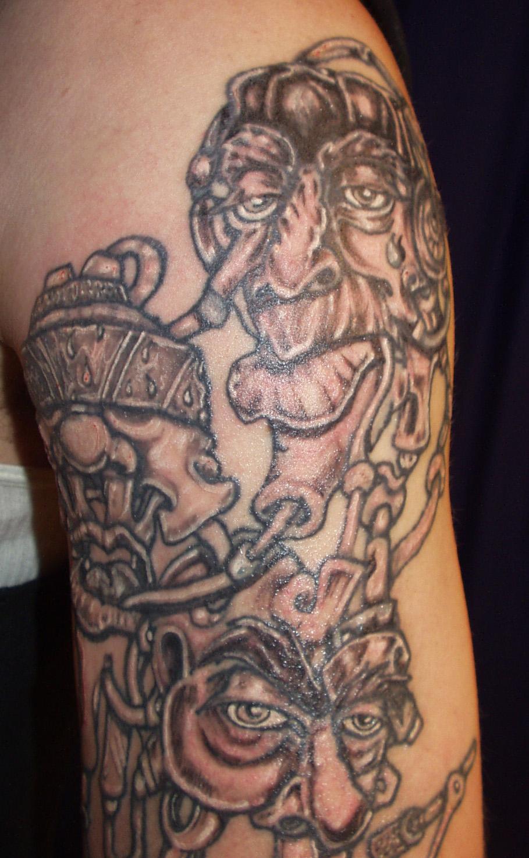 Hear See Speak No Mystyle Tattoo Design Picture