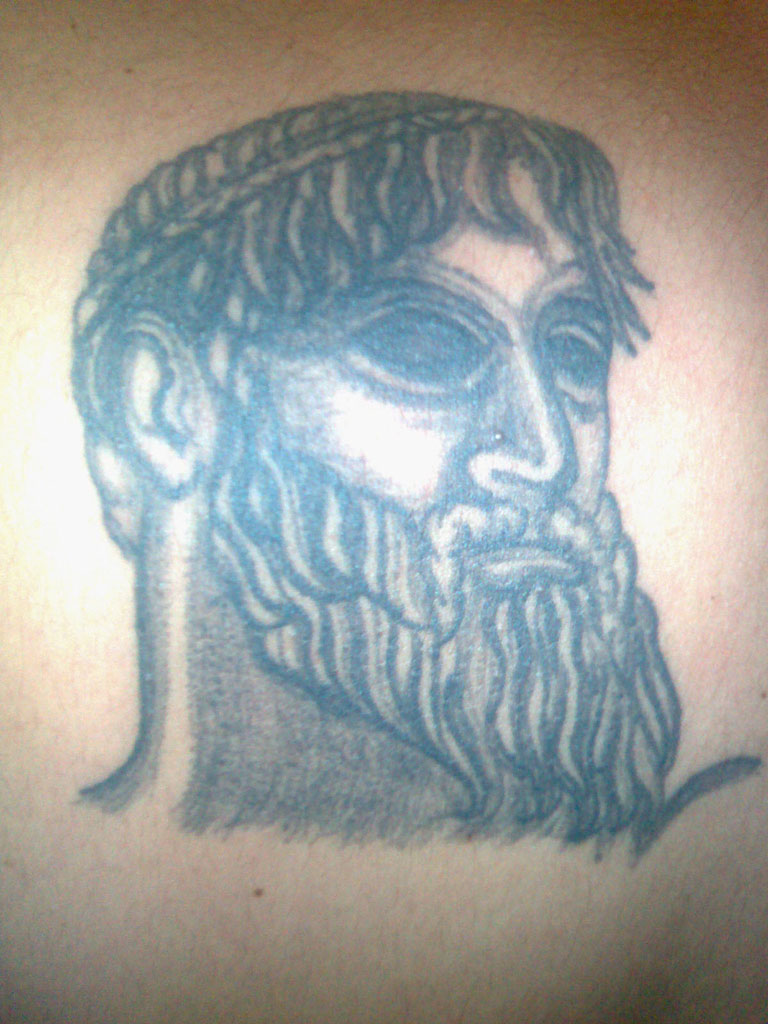 Poseidon Tattoo Picture