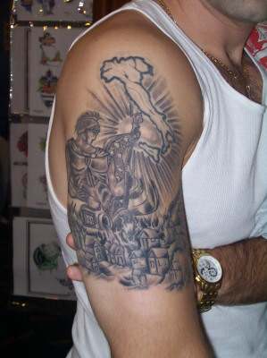 St Florian Tattoo Picture