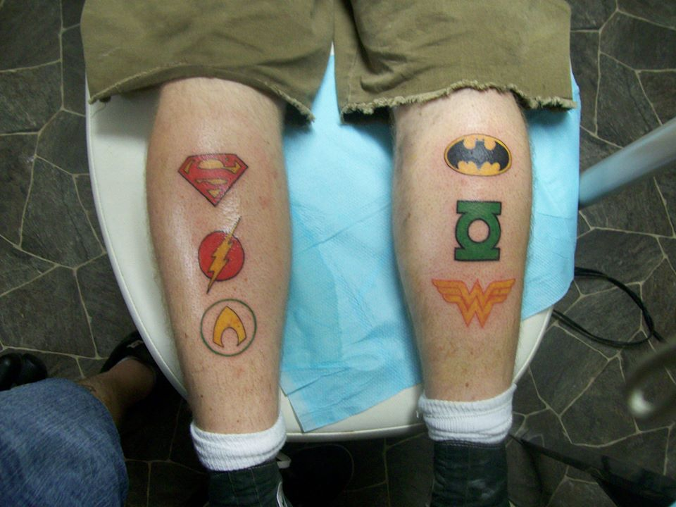 justice league tattoo picture