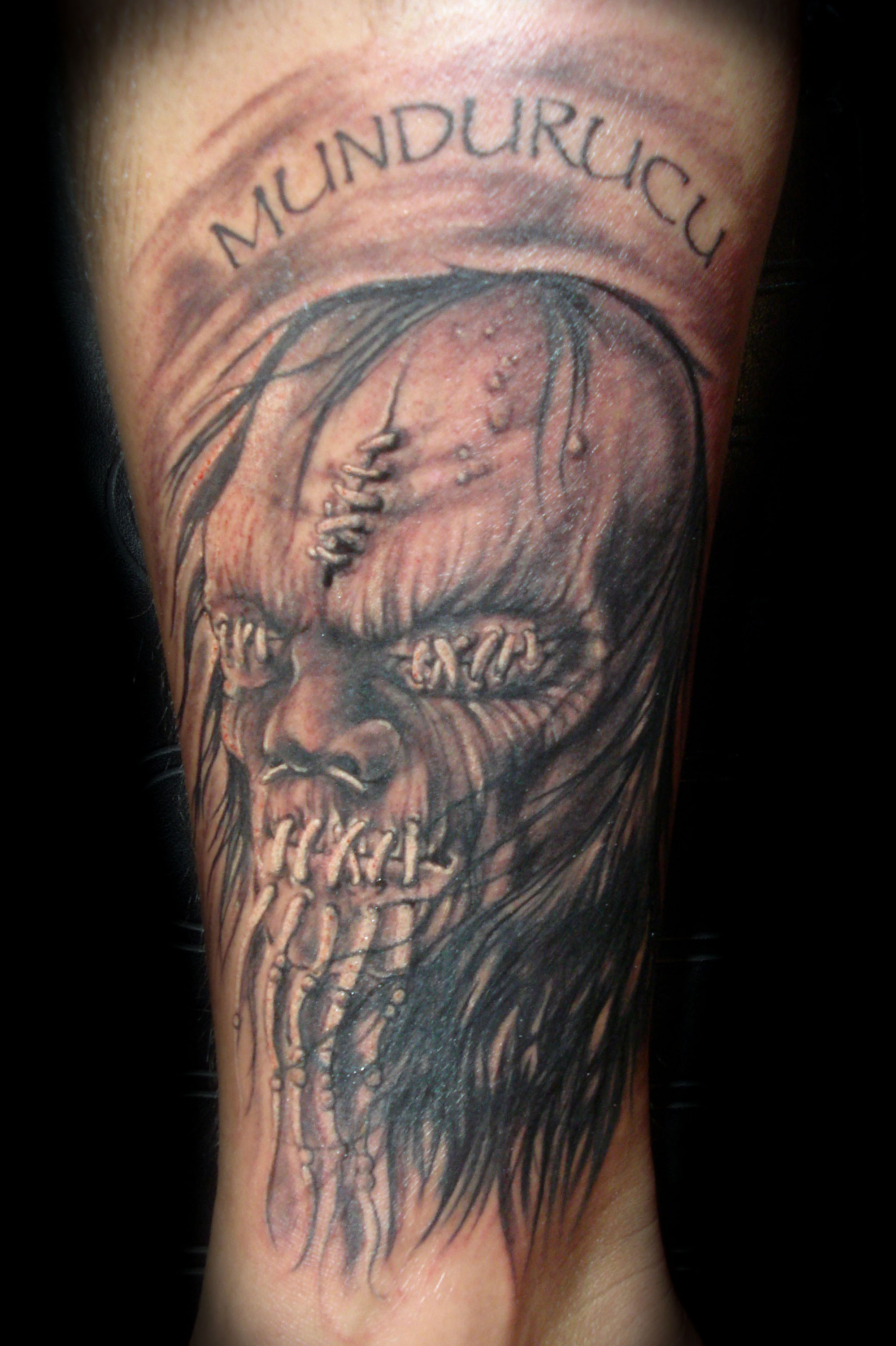 tattoo by chris saint clark tattoo picture. Black Bedroom Furniture Sets. Home Design Ideas