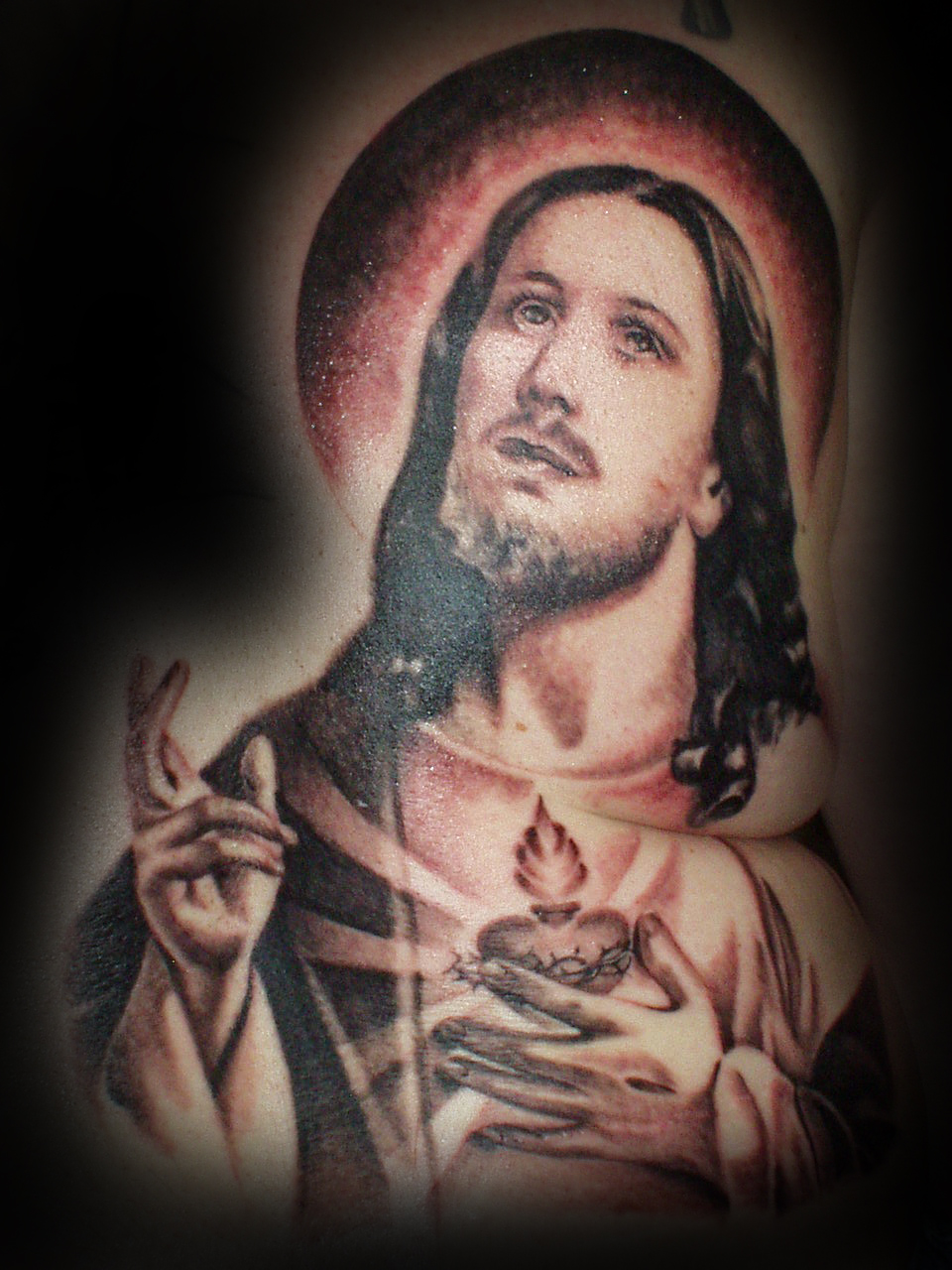 Jesus Backpiece