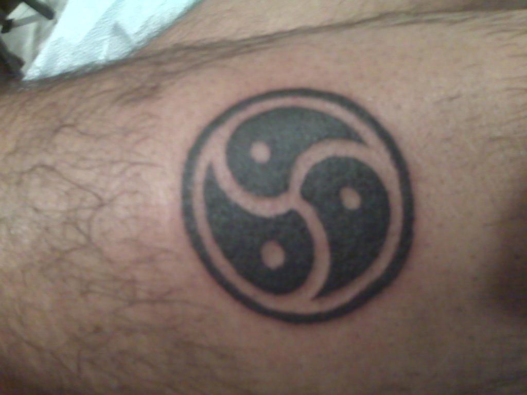 Bdsm Symbol Tattoo 79