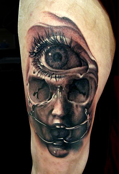 Third Eye Tattoo: Third Eye Tattoo Picture