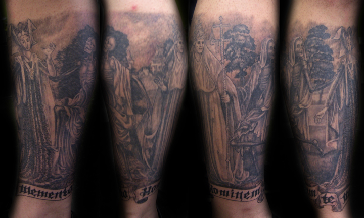 1 Danse Macabre Sleeve Questions Tattoo Forum At