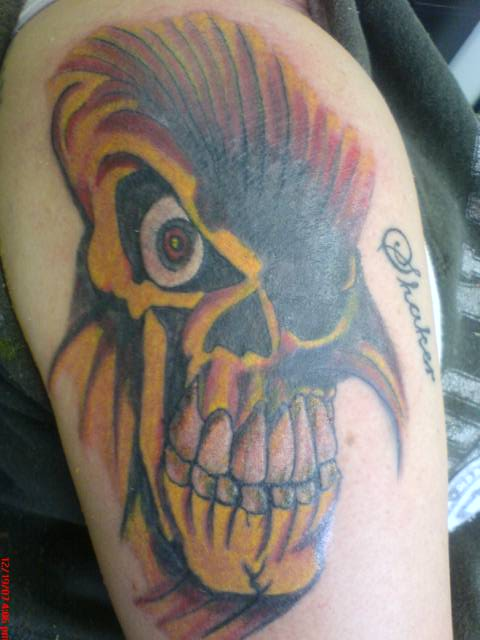 A Cover up Skull