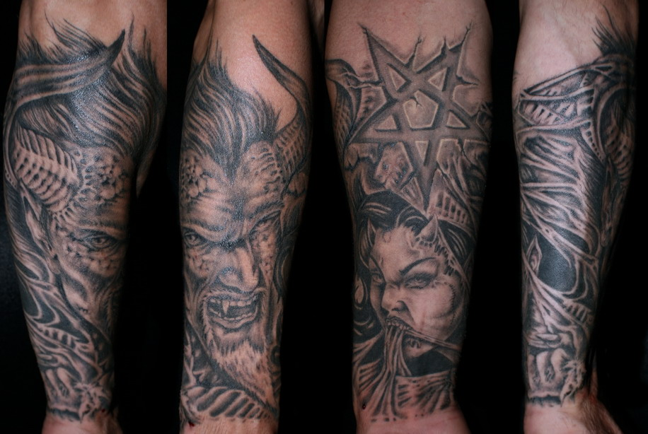 Satan Tattoo Picture