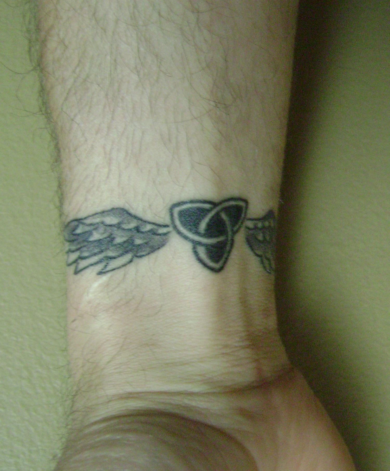 Trinity Wrist Tattoo Tattoo