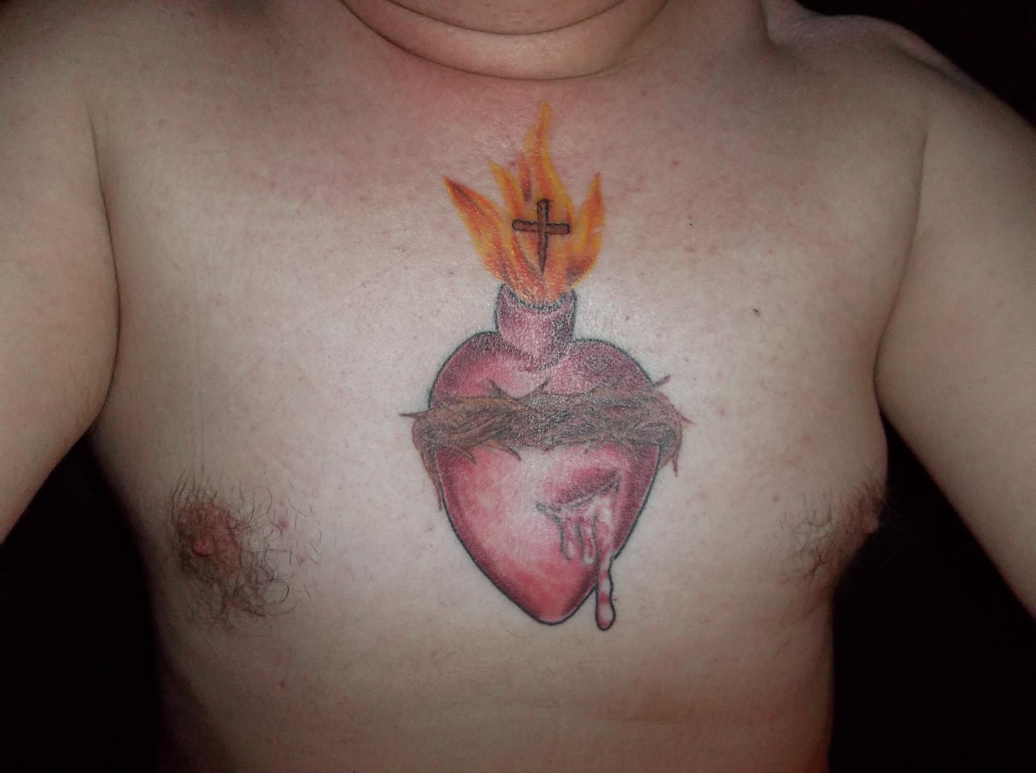Sacret Heart Tattoo