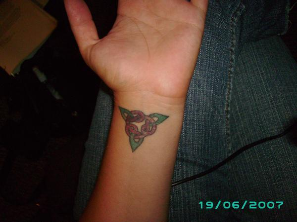 Wiccan symbol tattoo picture for Witch symbols tattoos