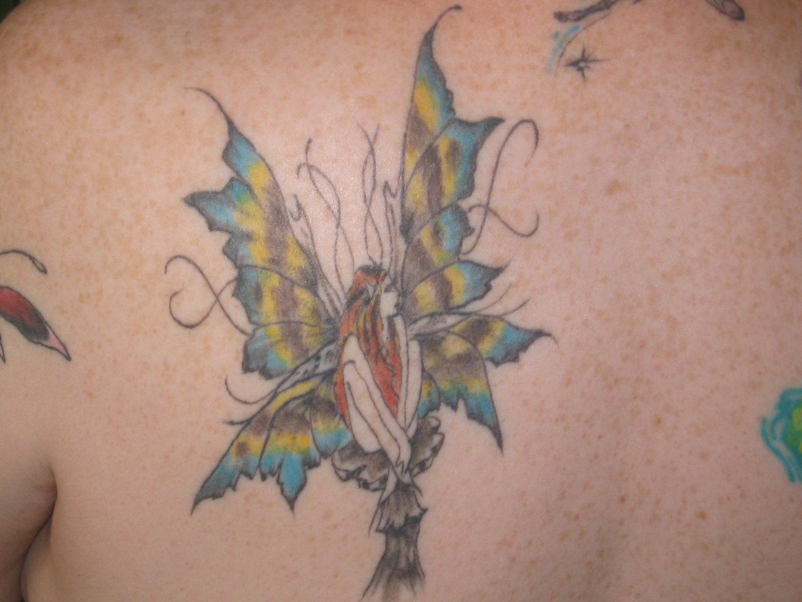 Another fairy on my back
