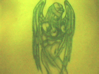 Angel  back