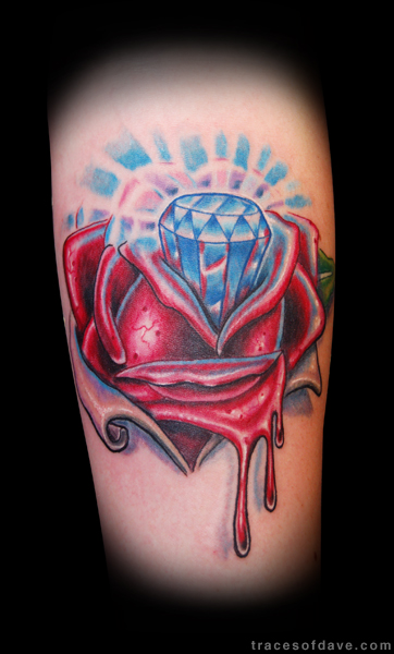 vagina rose tattoo