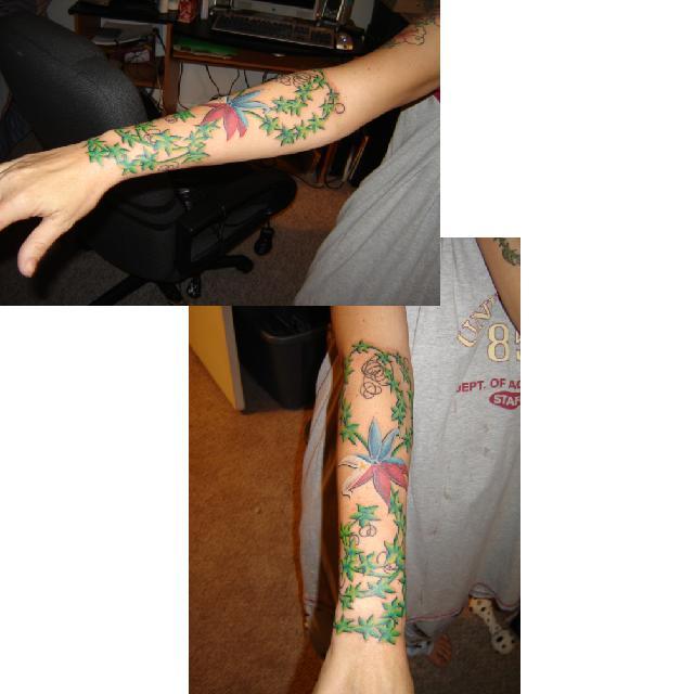 grandpa 39 s memory tattoo picture. Black Bedroom Furniture Sets. Home Design Ideas