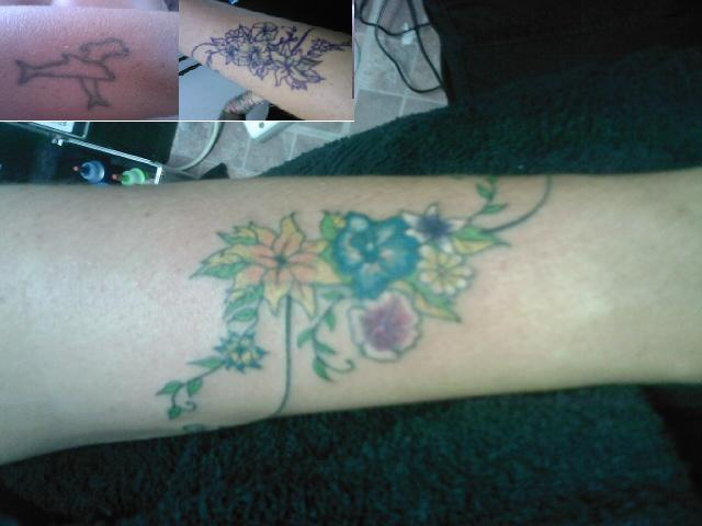Flower cover up