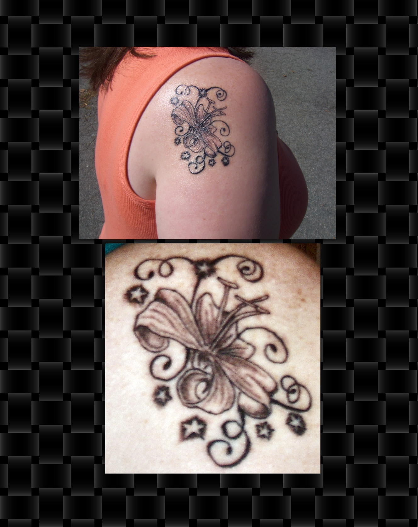 Jessi combs tattoo pics married pictures to pin on for Jessi combs tattoos