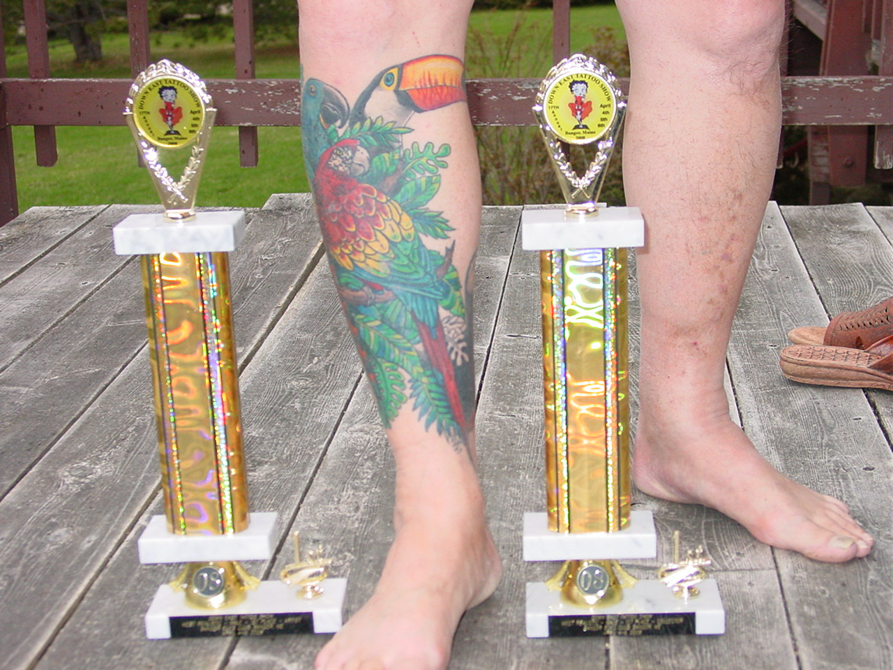 FIRST TATTOO SHOW 2 FIRST PLACES