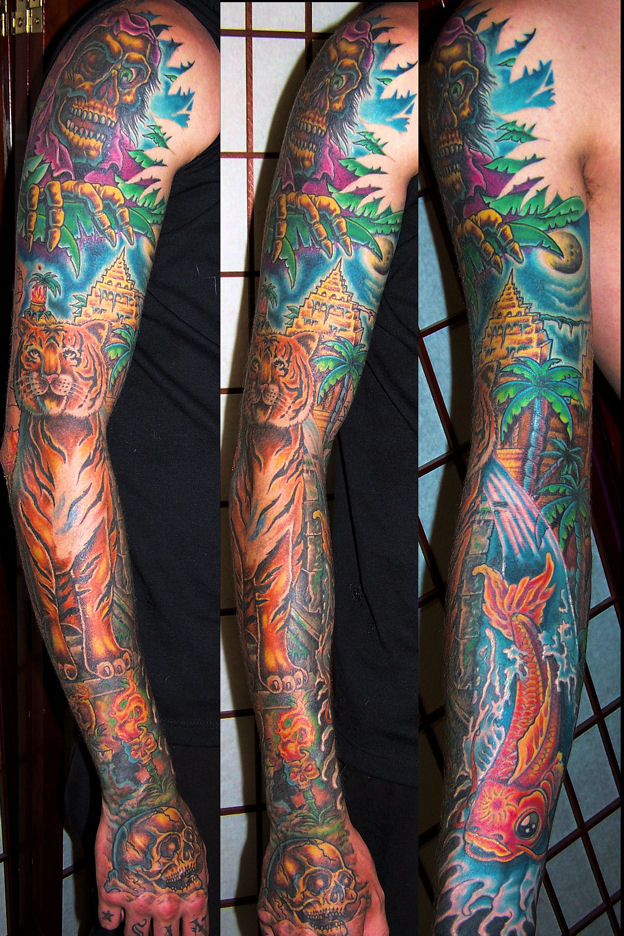 jungle sleeve