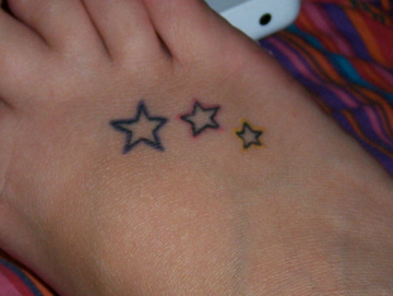 stars past present and future tattoo picture