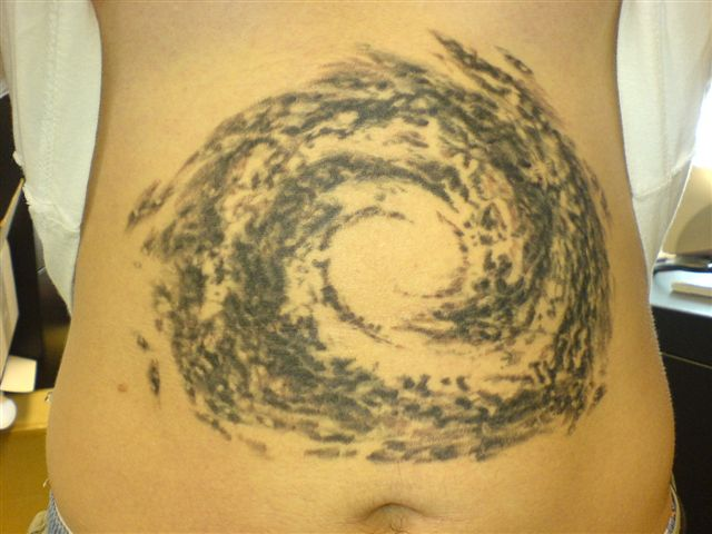 milky way tattoo picture