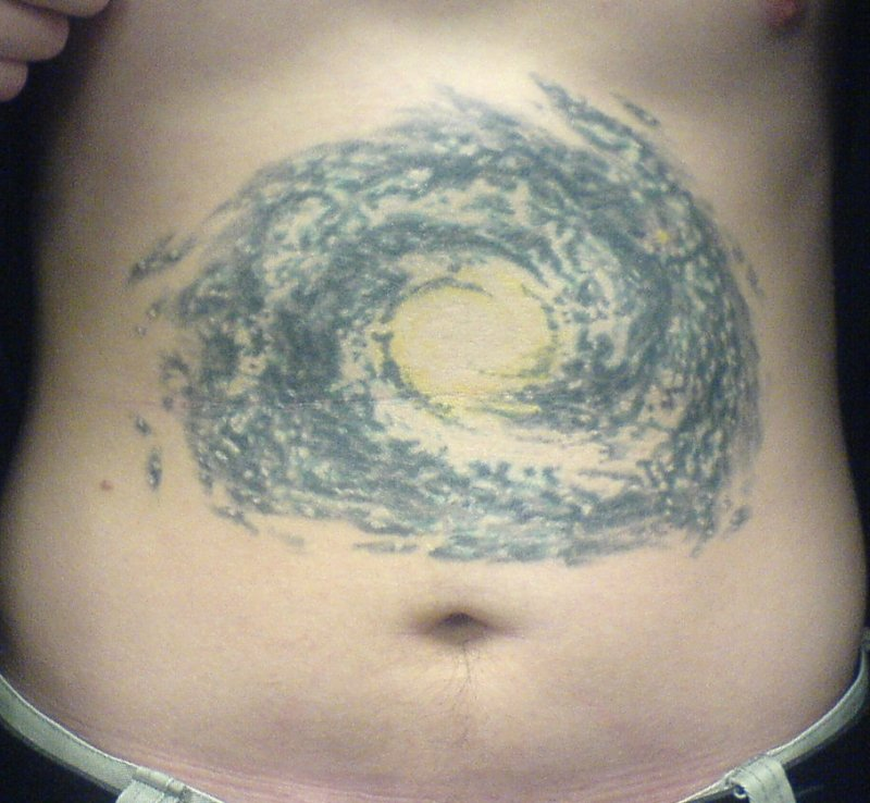 Minimalist tattoo milky way galaxy pics about space for Milky way tattoo