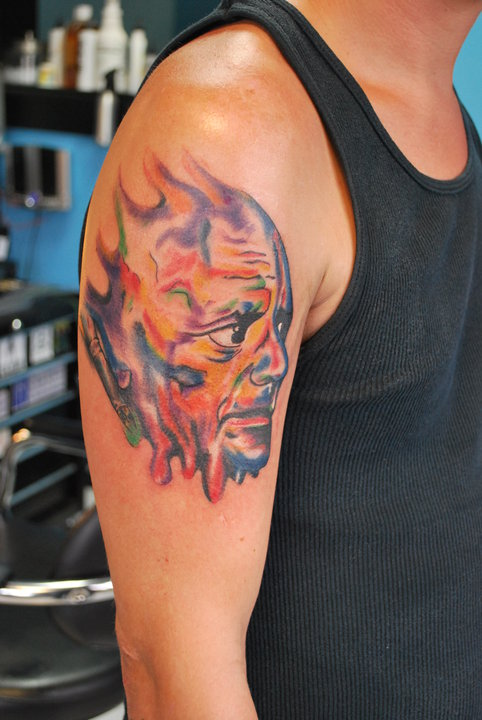 Pablo picasso tattoo picture for Picasso tattoo artist