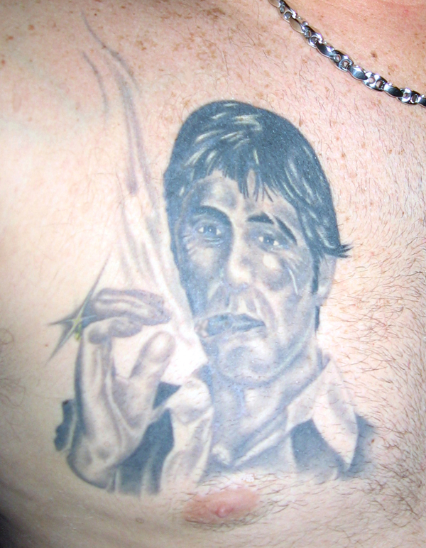 Tony Montana Scarface Tattoo Picture