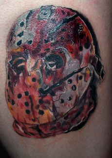 jason voorhees tattoo picture. Black Bedroom Furniture Sets. Home Design Ideas