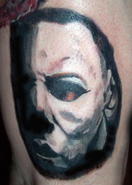 Michael myers tattoo picture for Michael myers tattoo