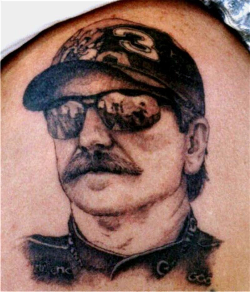 dale earnhardt memorial tattoo tattoo picture