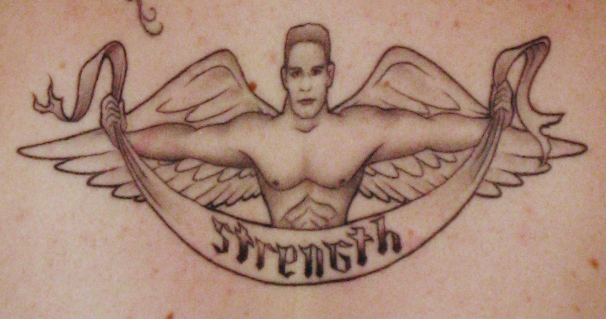 Cena Strength Angel