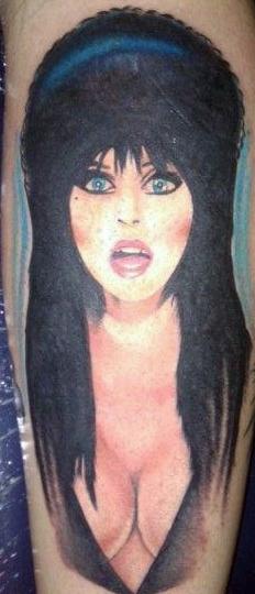 Elvira Tattoo