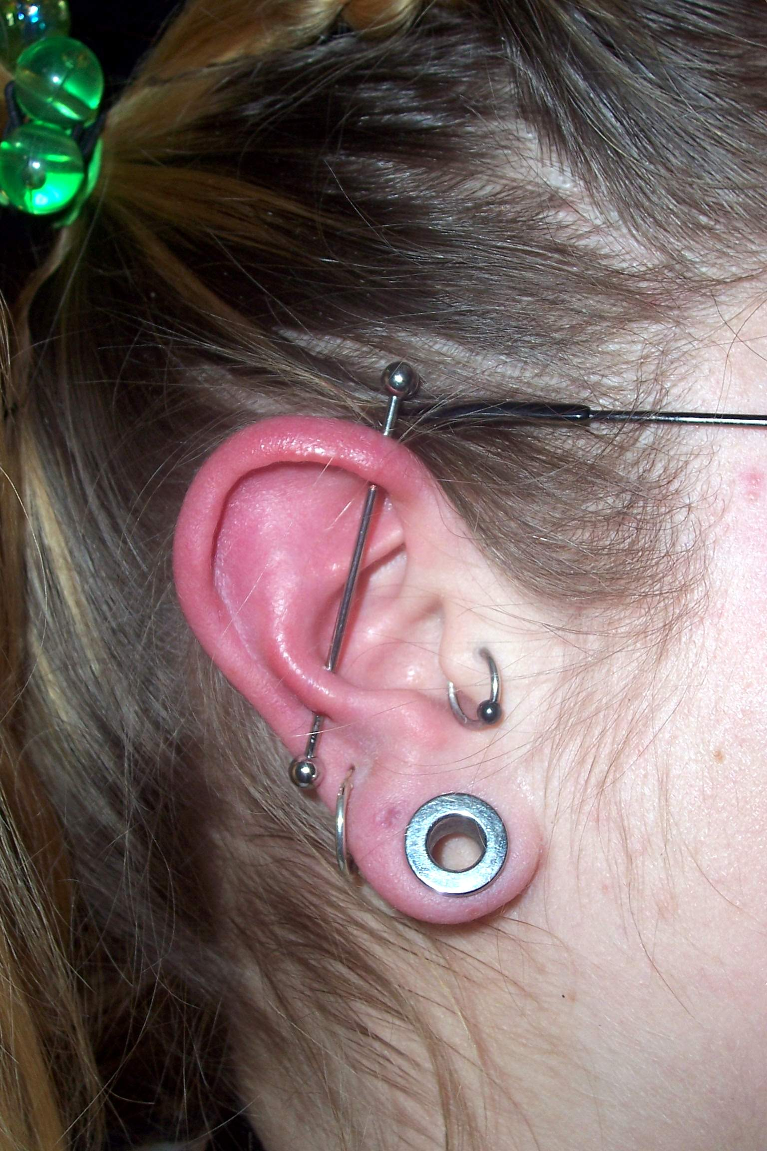 Industrial (Helix To Snug) Piercing Picture Picture