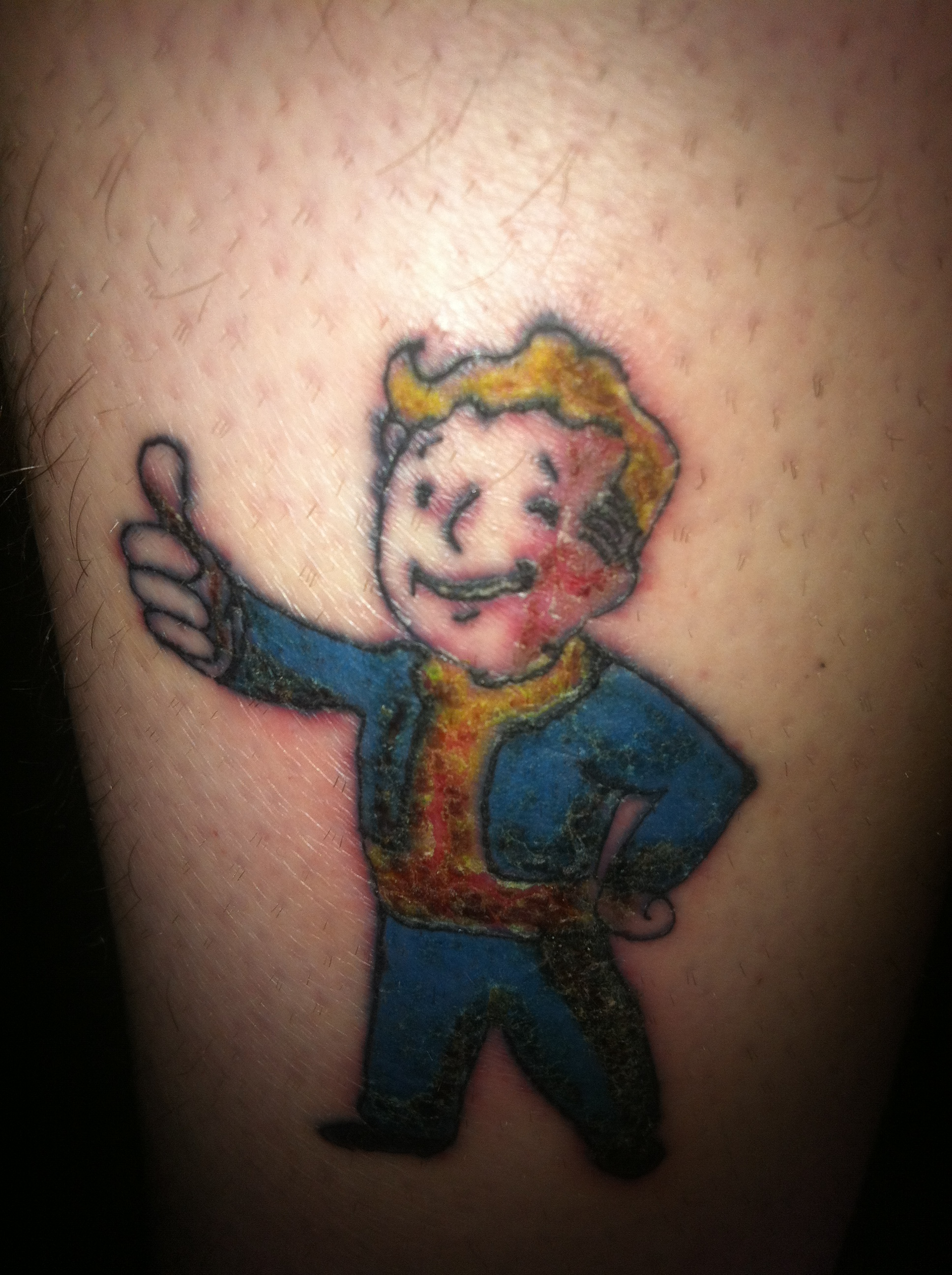 Vault Boy Tattoo Vault Boy