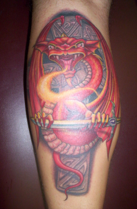 Lj 39 s dragon tattoo picture for Endless summer tattoo