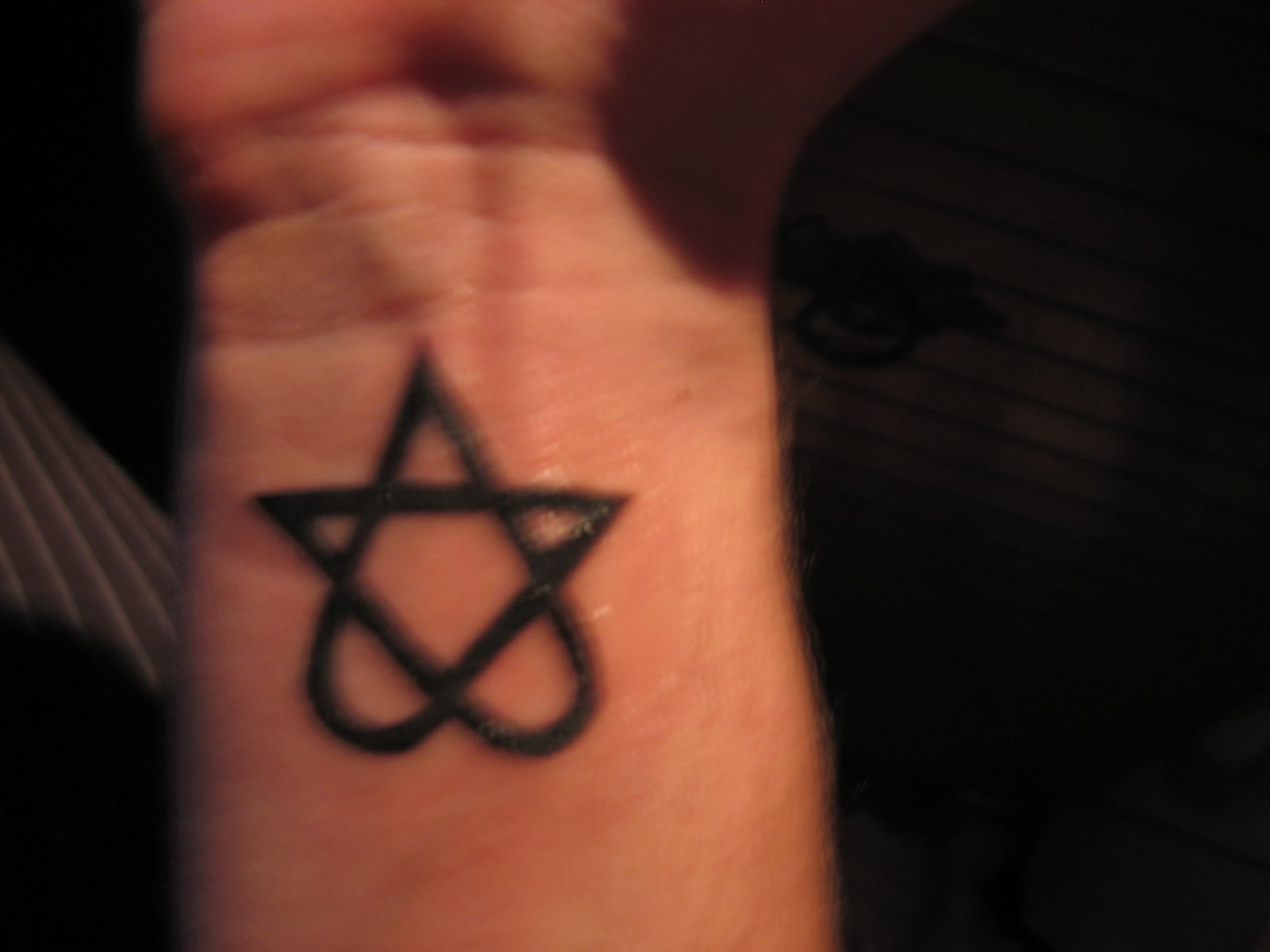 Love-Metal Tattoo Picture