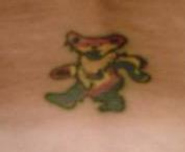 Spider Tatto on Dancing Bear Tattoo Picture