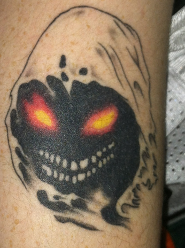 Disturbed Guy Tattoo Picture