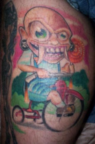 Lj 39 s new skool tat tattoo picture for Endless summer tattoo