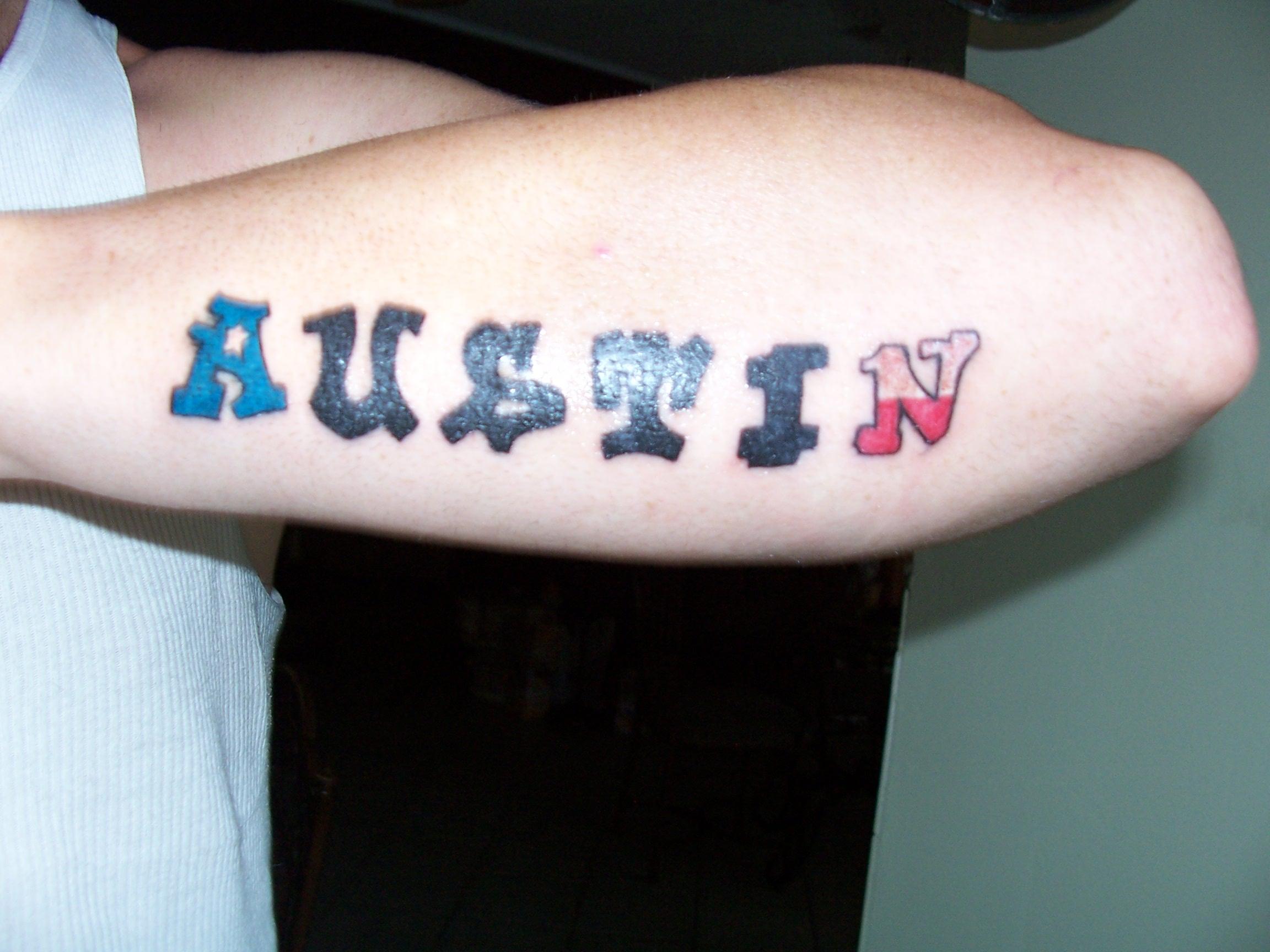Austin tx tattoo picture for Austin texas tattoo