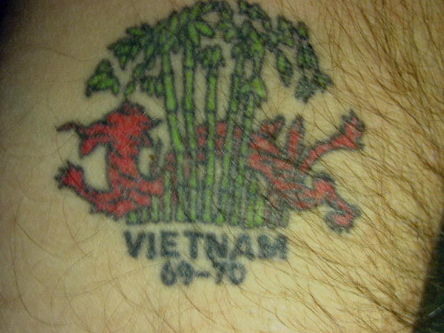 Vietnam service tattoo picture for Vietnam tattoo ideas