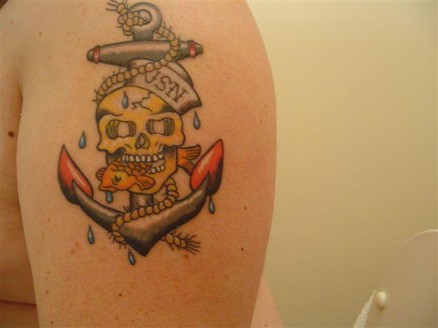 Drews navy tattoo