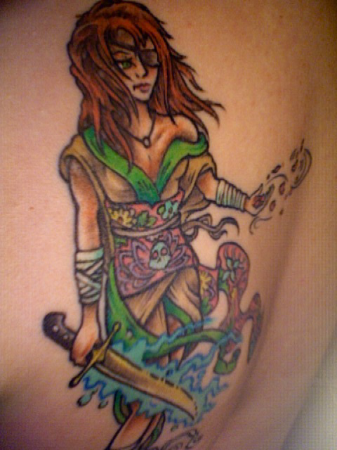 Iceblade Tattoo second view