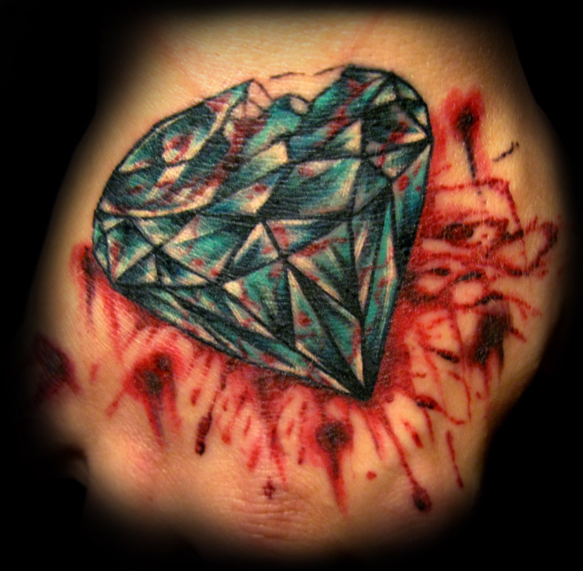 blood diamond tattoo picture
