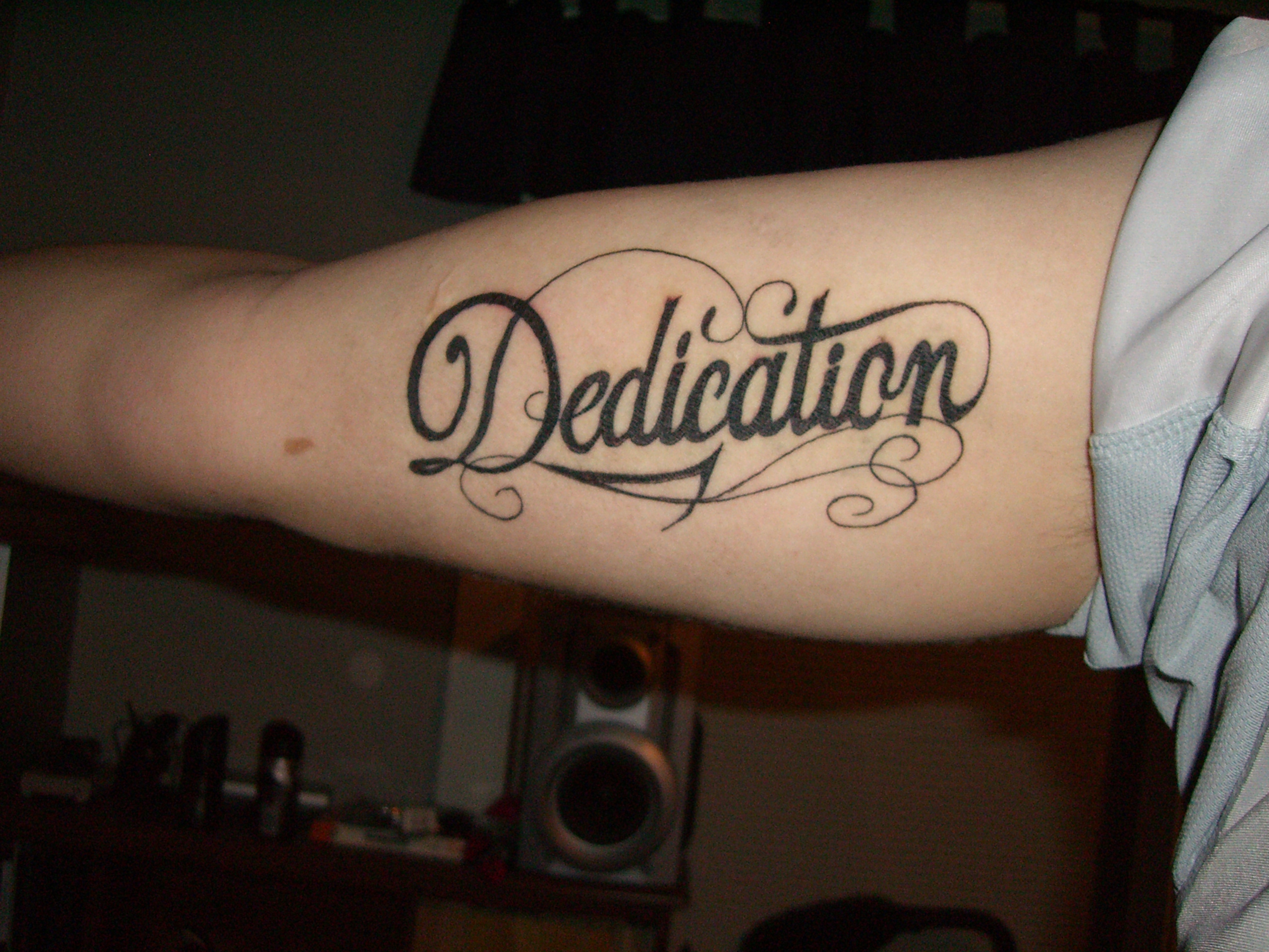 Dedication tattoo day 1
