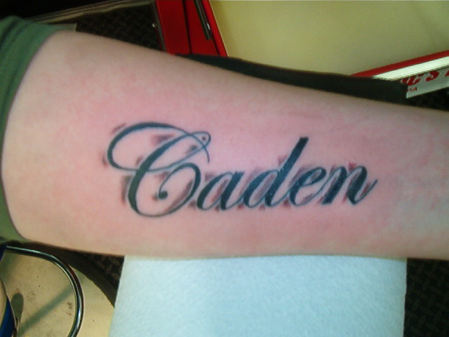 Caiden Tattoo
