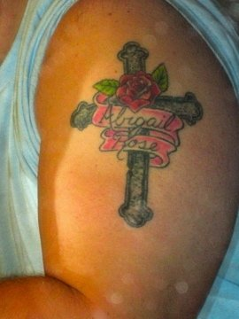 Abigail Rose Memorial Tattoo