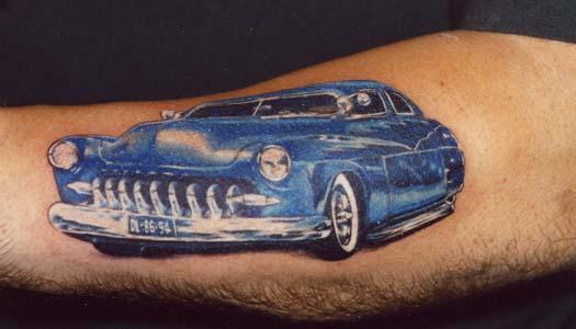 cool car Tattoo Design Picture